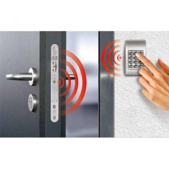 Draadloos deurslot (paniek) din rechts met draadloos codetableau
