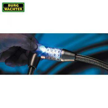 Spiraal kabelslot 230-65